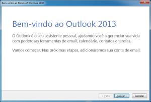 Bem-vindo ao Outlook